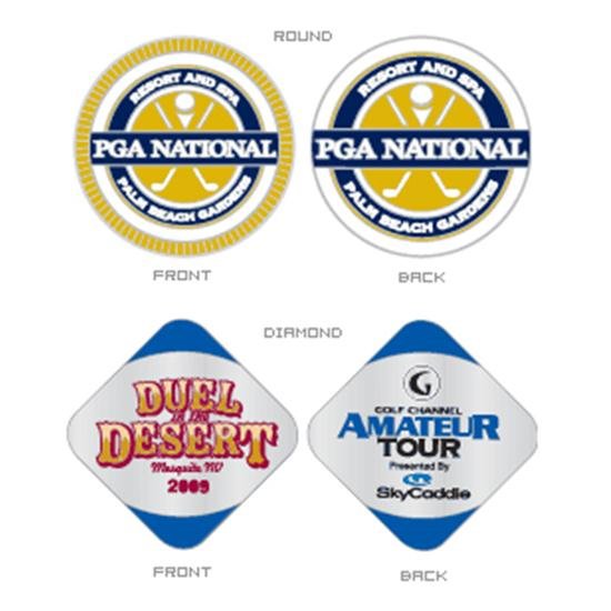 Logo Golf Really Big Ball Marker