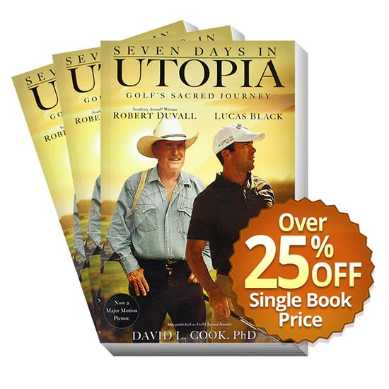 Seven Days in Utopia Book - Movie Cover - 100 Pack