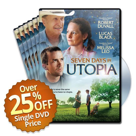 Seven Days in Utopia Movie - DVD - 25 Pack