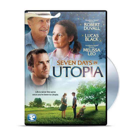 Seven Days in Utopia Movie DVD