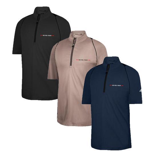 Adidas Men's Climaproof Half-zip SS Linear SFT Windshirt