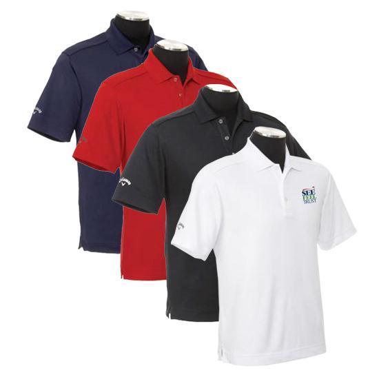 Callaway Golf Men's Chev See Feel Trust SFT Logo polo