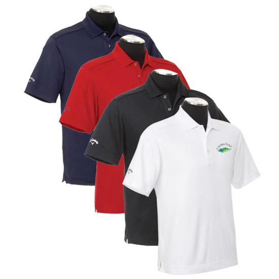 Callaway Golf Men's Chev Utopia Golf Logo Polo