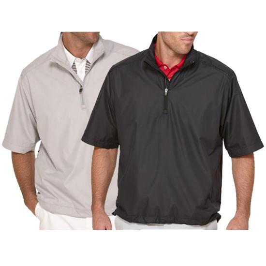 Callaway Golf Men's Gust Short Sleeved Windshirt