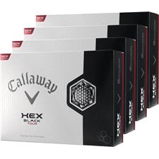 Callaway Golf HEX Black Tour Personalized Golf Balls - Buy 3 dz Get 1 dz Free