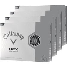 Callaway Golf HEX Chrome Personalized Golf Balls - Buy 3 dz Get 1 dz Free