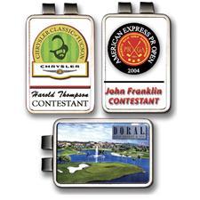 Logo Golf ColorMagic Die Struck Rectangular Money Clip