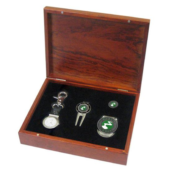 Logo Golf Rosewood Gift Set