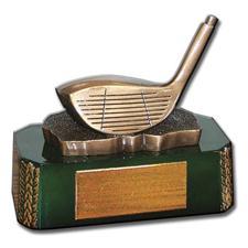 Logo Golf Driver Clubhead Golf Award