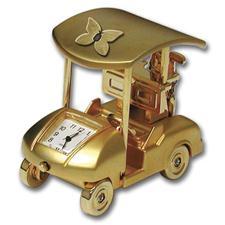 Logo Golf Golf Cart Gift Clock