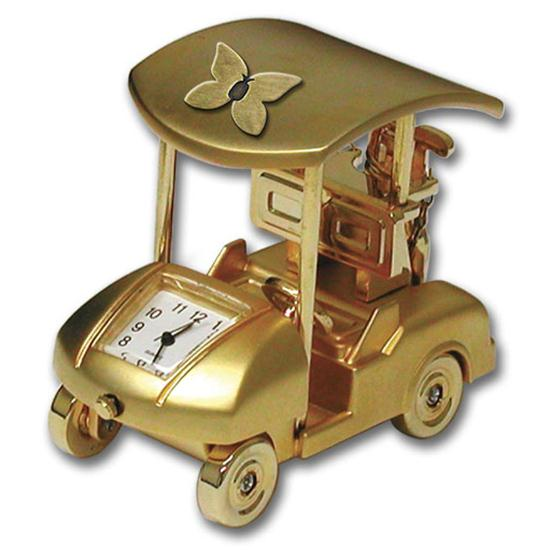 Logo Golf Golf Cart Gift Clock