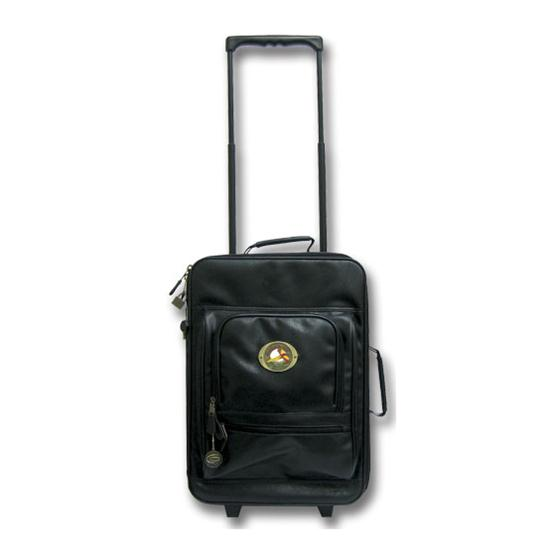 Logo Golf Leatherette 19 Inch Upright Bag w/ Wheels