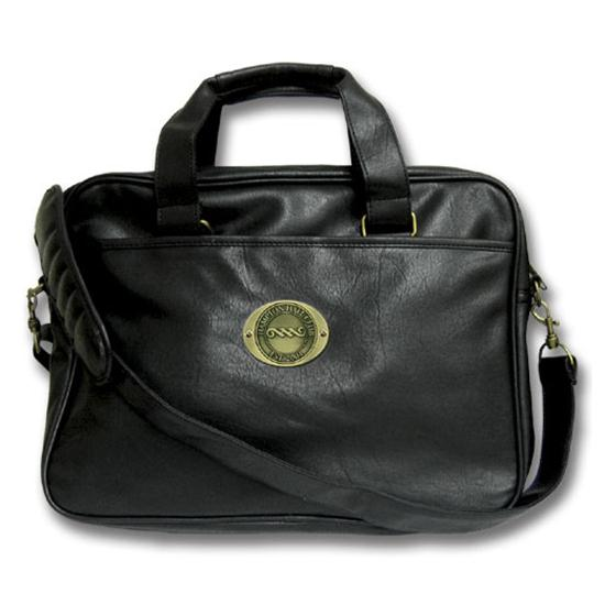 Logo Golf Leatherette Portfolio Bag