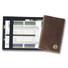 Logo Golf Leatherette Scorecard Holder