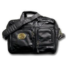 Logo Golf Multi-Pocket Attache  - Black