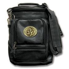 Logo Golf Portable Cooler w/ Organizer  - Black