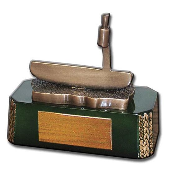 Logo Golf Putter Clubhead Golf Award