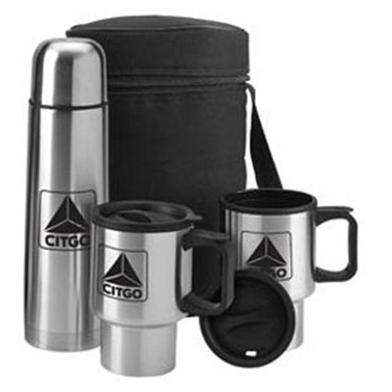 Logo Golf Stainless Travel Kit