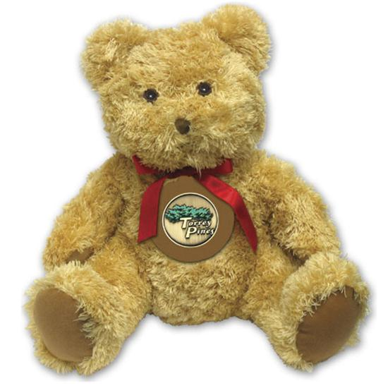 Logo Golf Teddy Bear w/ Coin