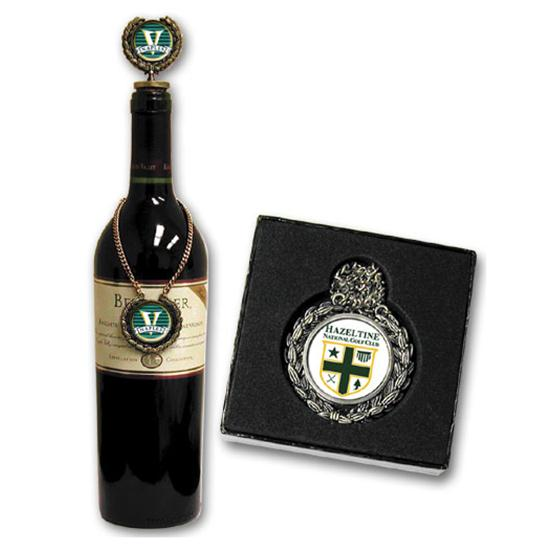 Logo Golf Wine Medal