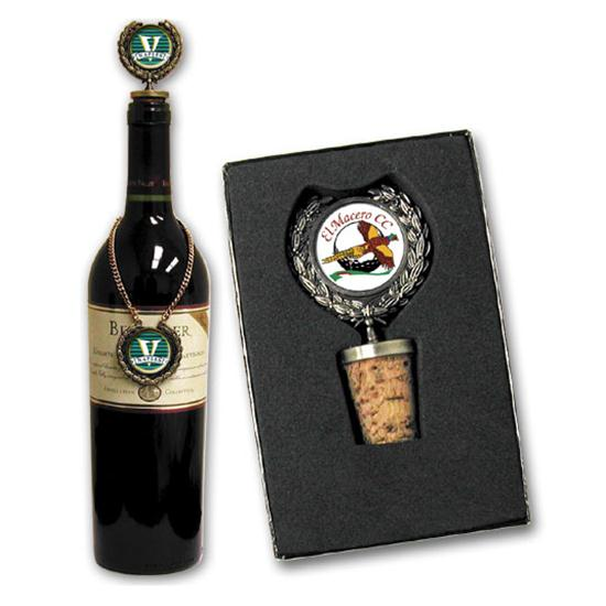 Logo Golf Wine Stopper