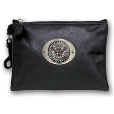 Logo Golf Zippered Valuables Pouch