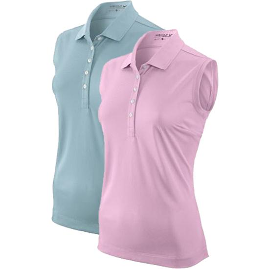 Nike Tech Pique Sleeveless Polo for Women