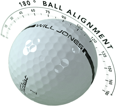AlignXL, Tour-Proven 180-Degree Golf Ball Alignment - Golfballs.com