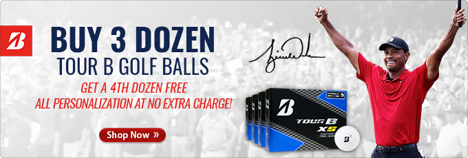 Buy 3 Dozen Bridgestone Tour B Golf Balls Get a 4th Dozen Free