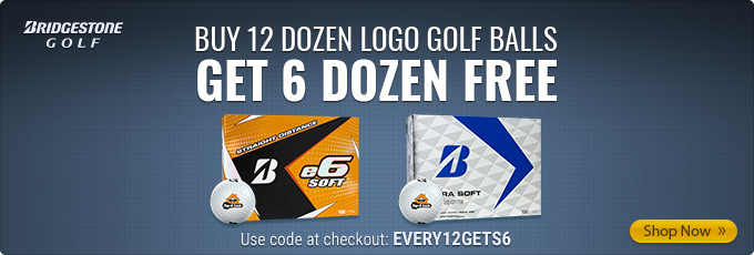 Select Bridgestone Custom Logo Golf Balls - Buy 12 Dz Get 6 Dz Free