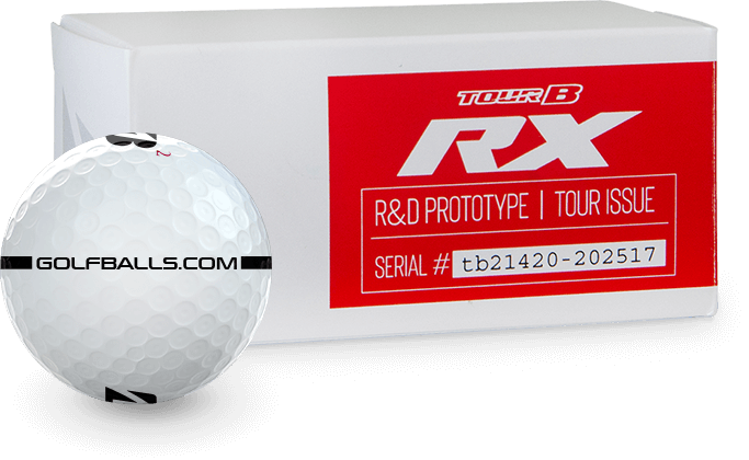 Bridgestone TOUR B RX Prototype Golf Balls