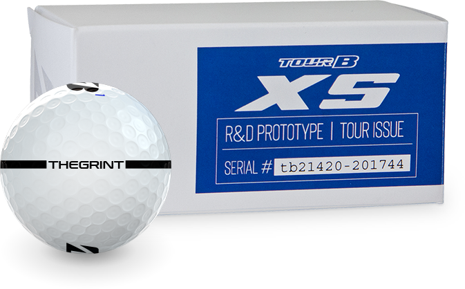 Bridgestone TOUR B XS Prototype Golf Balls