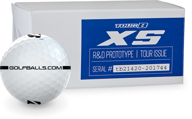 Bridgestone TOUR B XS Prototype Golf Balls