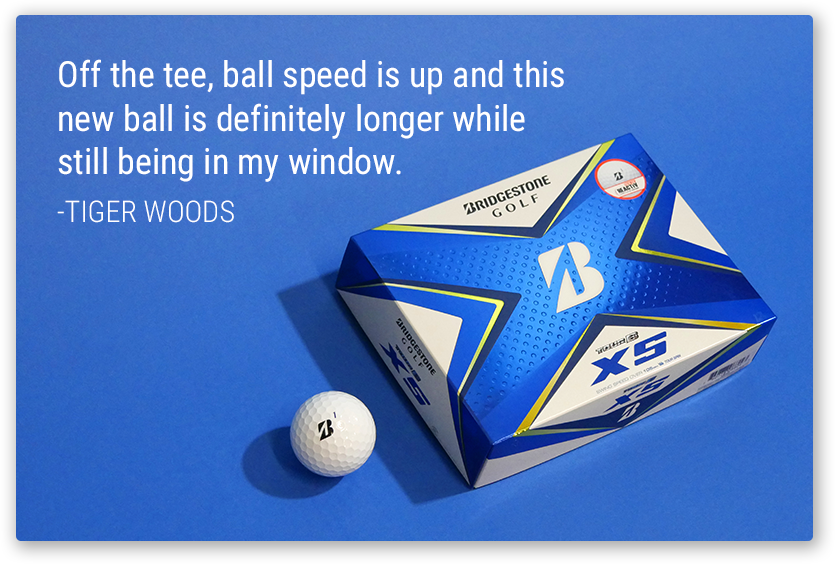 TOUR B XS | Tiger Woods' Ball