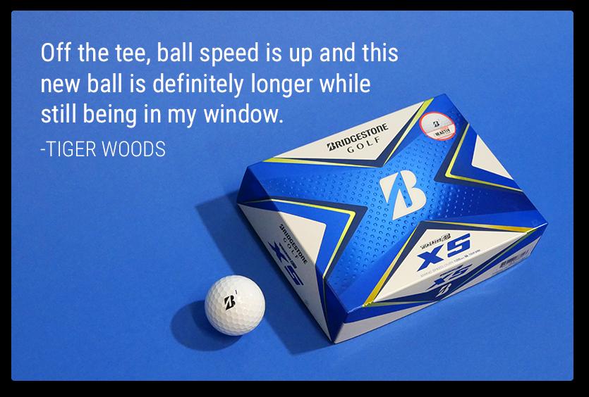 TOUR B XS | Tiger Woods' Ball