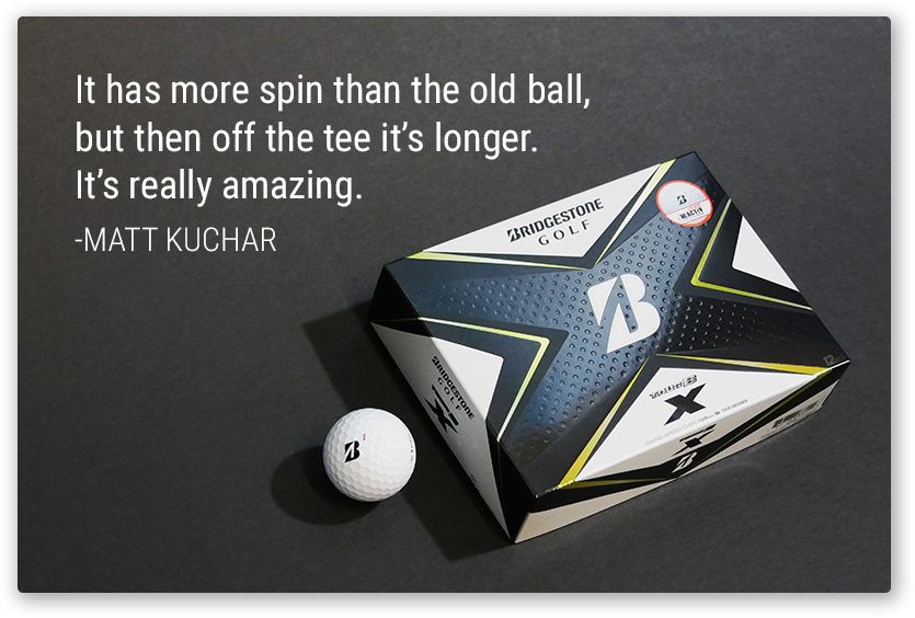 TOUR B X | Matt Kuchar's Ball