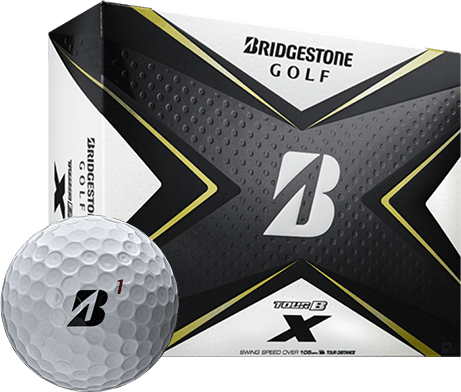 Bridgestone Tour B X - White