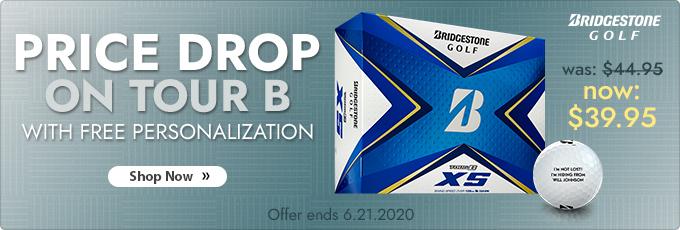 Price Drop on Bridgestone TOUR B Series Golf Balls