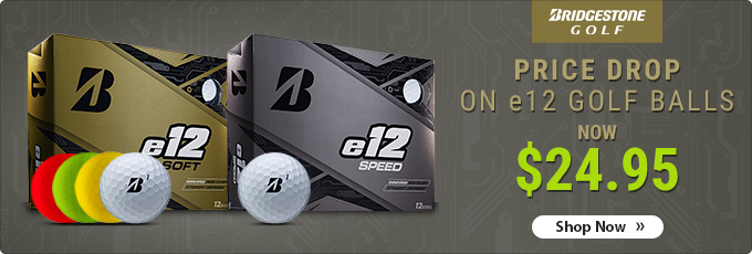 Price Drop on Bridgestone e12 Soft & Speed Golf Balls | Now $24.95