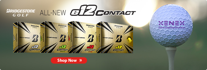 All-New Custom Logo Bridgestone e12 Contact Golf Balls