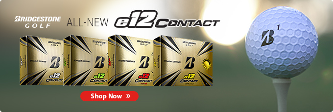 All-New Bridgestone e12 Contact Golf Balls