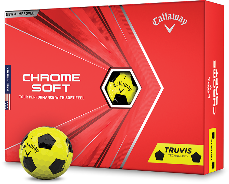 Chrome Soft Truvis Yellow and Black