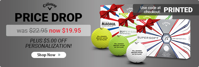 Callaway Supersoft Golf Balls now $19.95!