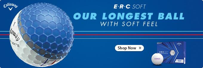 All-New Callaway Custom Logo ERC Soft Triple Track