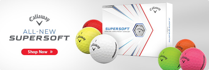 Available Now! Callaway 2021 Supersoft