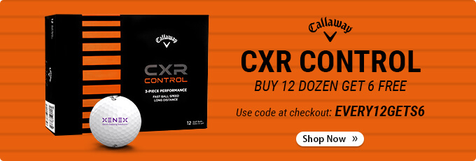 Callaway Custom Logo CXR Control - Buy 12 Dozen Get 6 Dozen Free