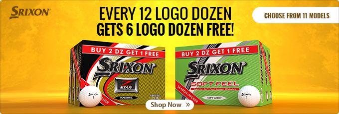 Srixon Golf Balls - Buy 12 Dz Get 6 Dz Free