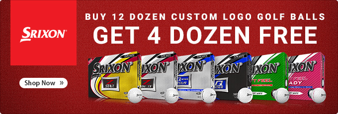 Srixon Golf Balls - Buy 12 Dz Get 4 Dz Free