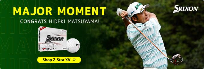 Hideki Matsuyama Wins 2021 Masters Tournament with Srixon Z-Star XV Golf Balls
