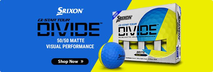 All-New Srixon Q-Star Tour Divide Golf Balls